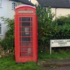 Axmouth Adopts a Phone Box....