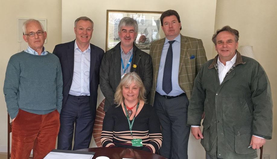 Trinity Broadband - Meeting with MP Neil Parish and CDS April 2016