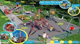 Work on the two new play areas should be completed by February 2019
