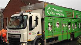 Environment Minister praises East Devon's recycling success