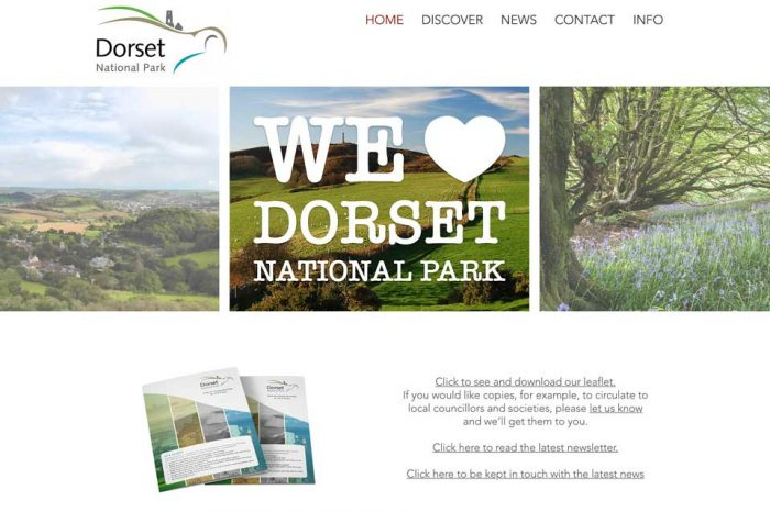 National Park review, East Devon in Dorset National Park & Government commends EDDC Recycling. WMR - Feb 2019