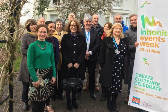 East Devon launches #inhoniton #HonitonEventsWeek