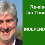 Re-Elect Ian Thomas Independent