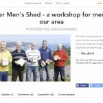 Beer Mens Shed receives Crowdfunding