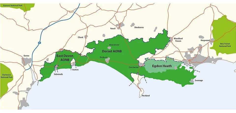 East Devon AONB to be appended to Dorset in new National Park?